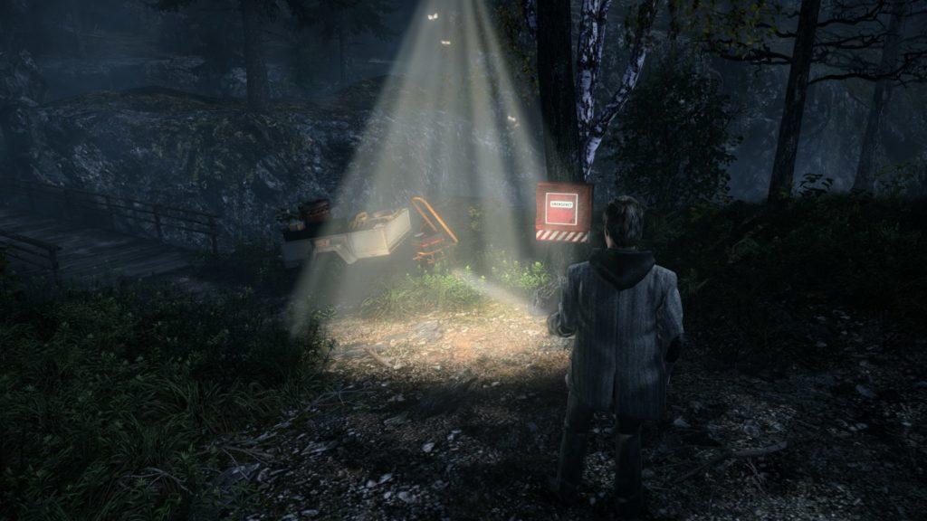 Свет фонаря является зоной сохранения. В ней вы можете отдохнуть и пополнить припасы