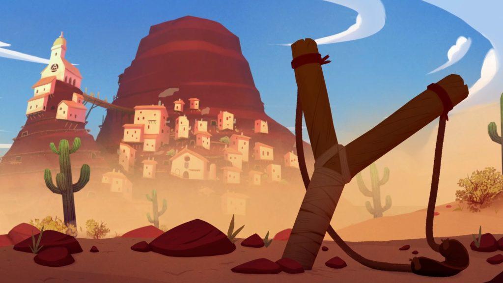 Чаще всего Эль Хиджо пользуется рогаткой. При помощи нее можно отвлекать врагов на расстоянии: запульнув камень вблизи противника или разбив вазу