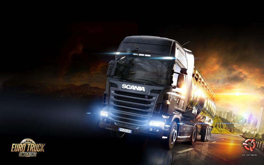 Euro Truck Simulator 2 топ игр для слабых пк