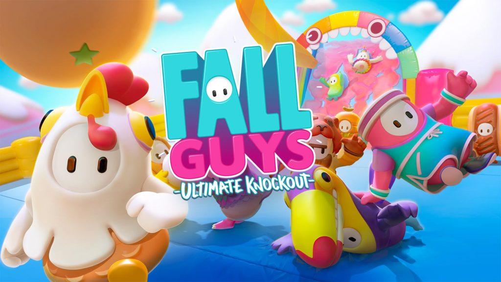 Зовите друзей и проводите все испытания Fall Guys