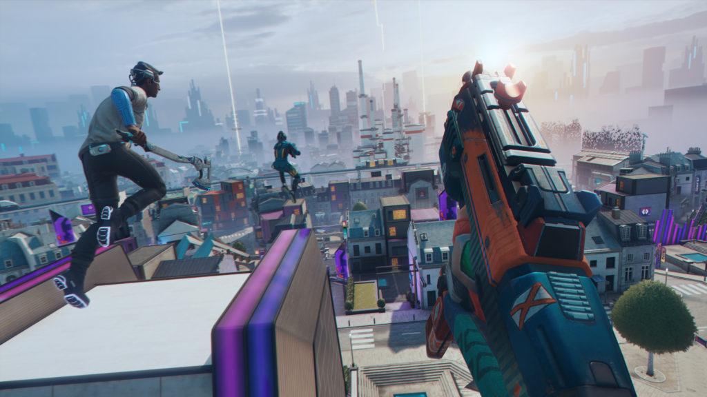 В игре большое внимание уделено паркуру и вертикальному геймплею. Необходимо в совершенстве овладеть всеми приемами «воздушного» боя