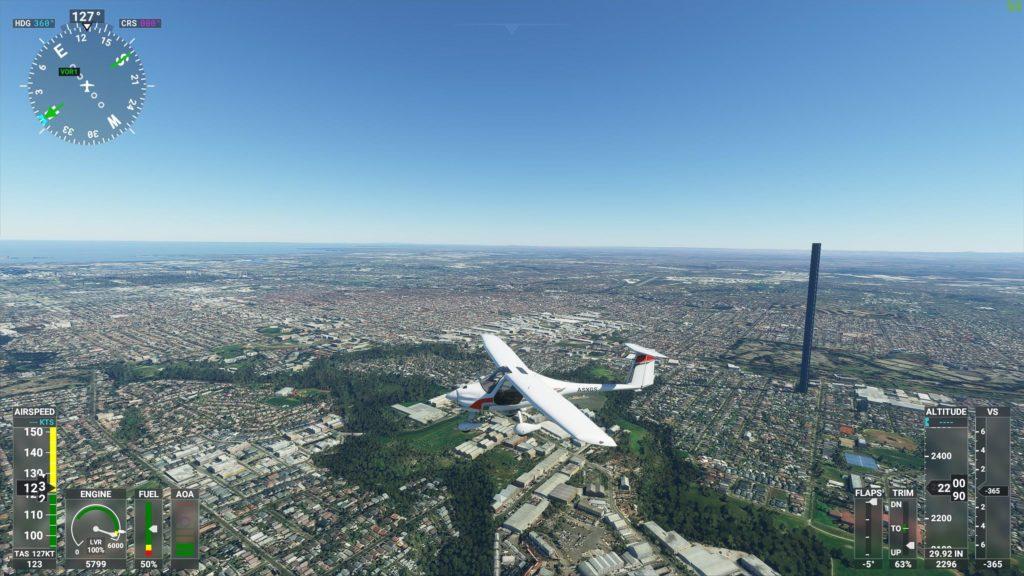 Microsoft Flightsimulator screenshot