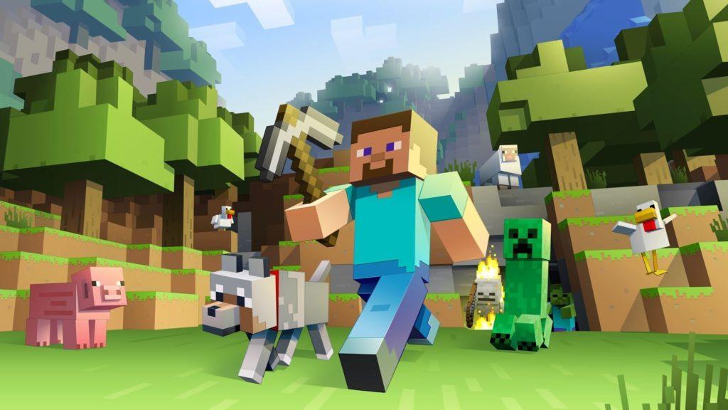 Minecraft топ игр с открытым миром