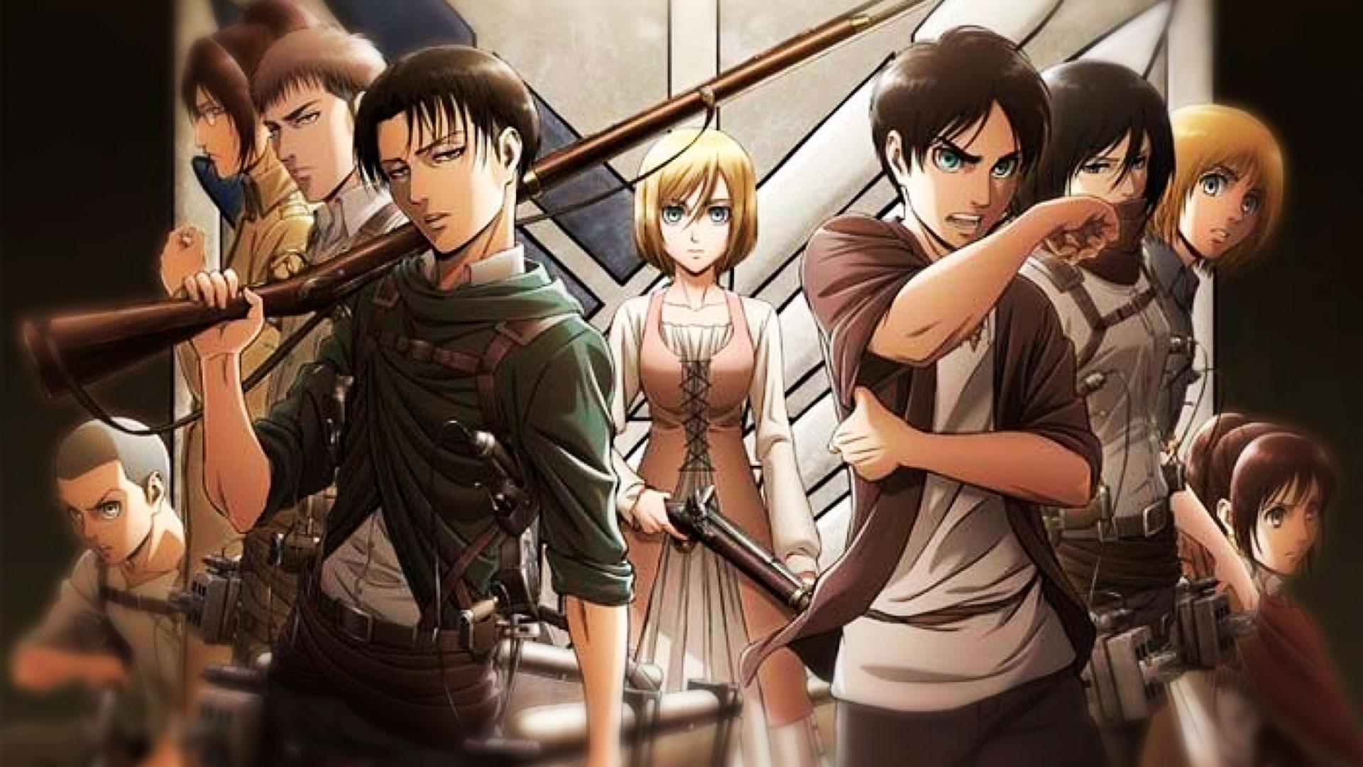 Аниме игра Attack of Titan