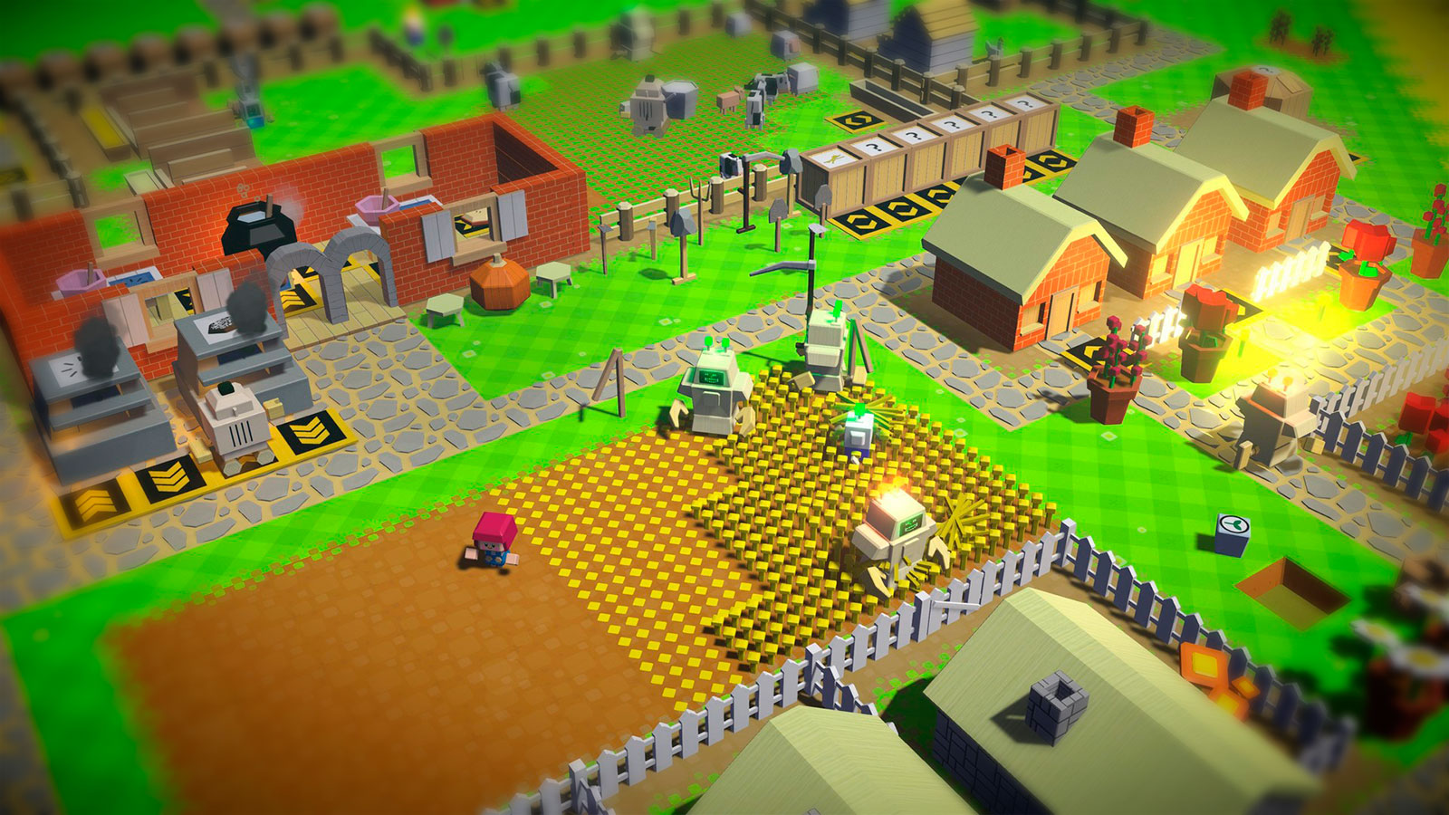 Autonauts пиксельная ферма