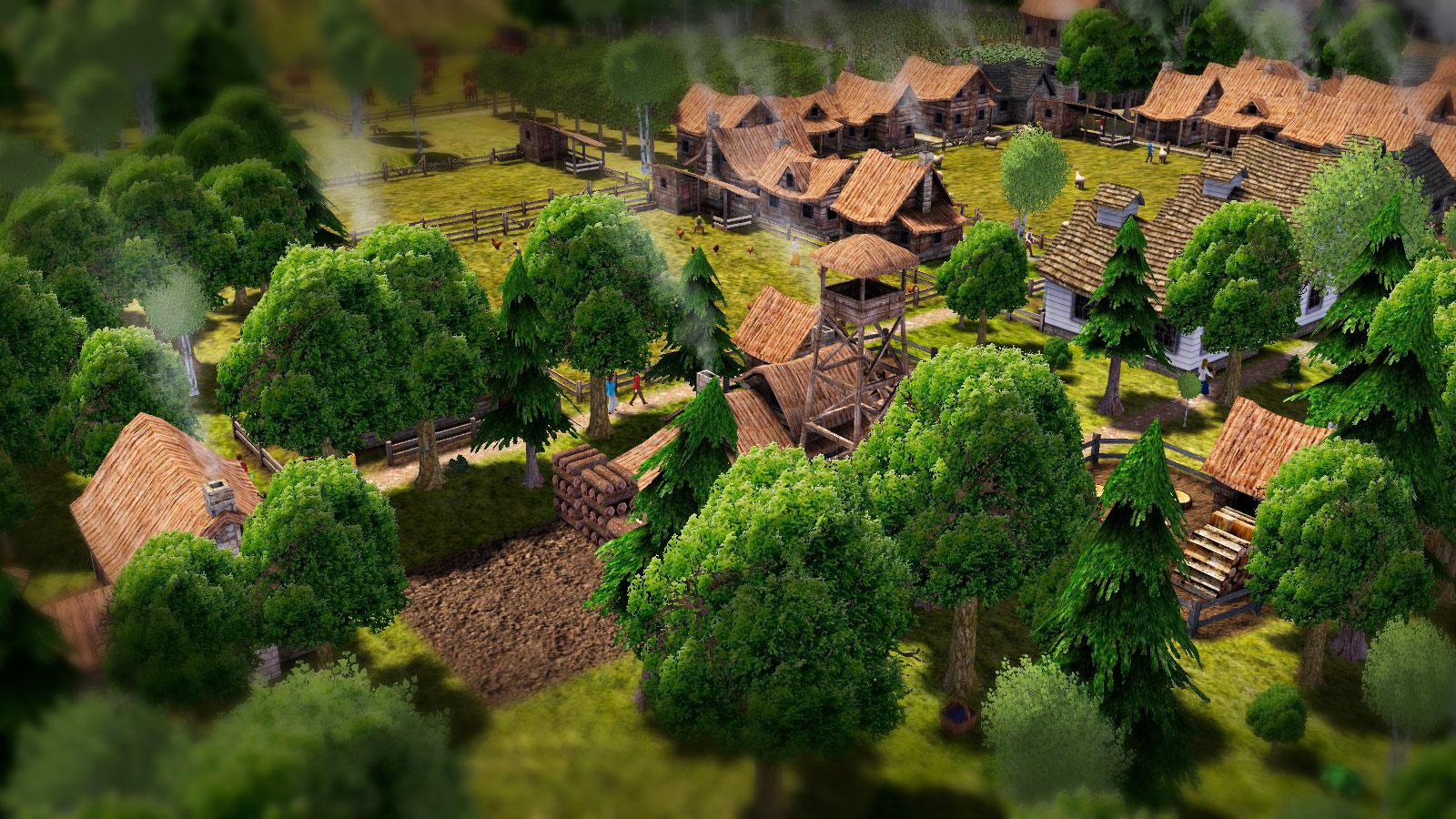Banished реалистичная ферма