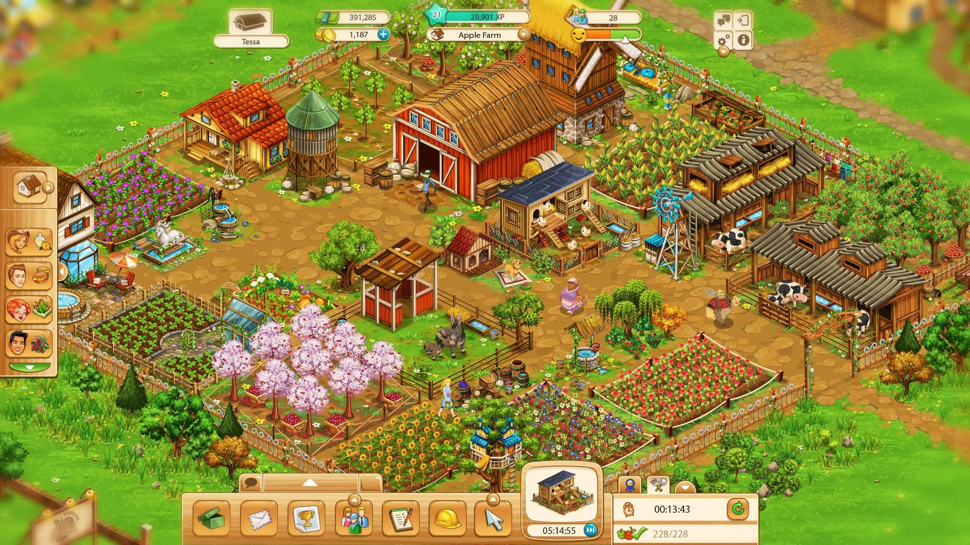 Большая история фермы