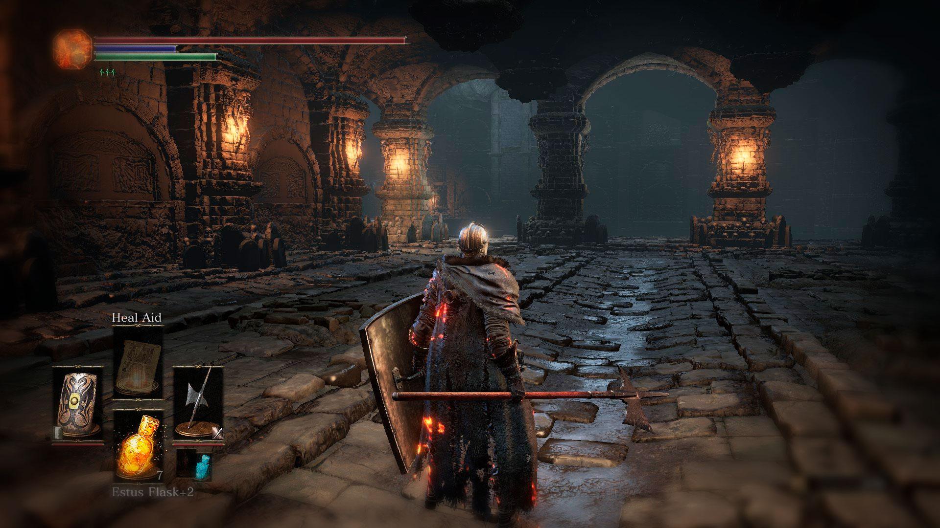 Дарк соулс слешер с элементами RPG