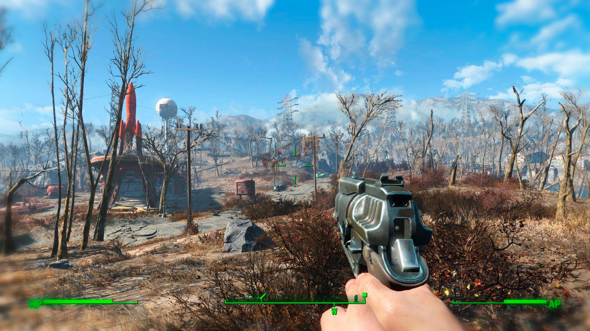 Fallout 4 - RPG с видом от первого лица