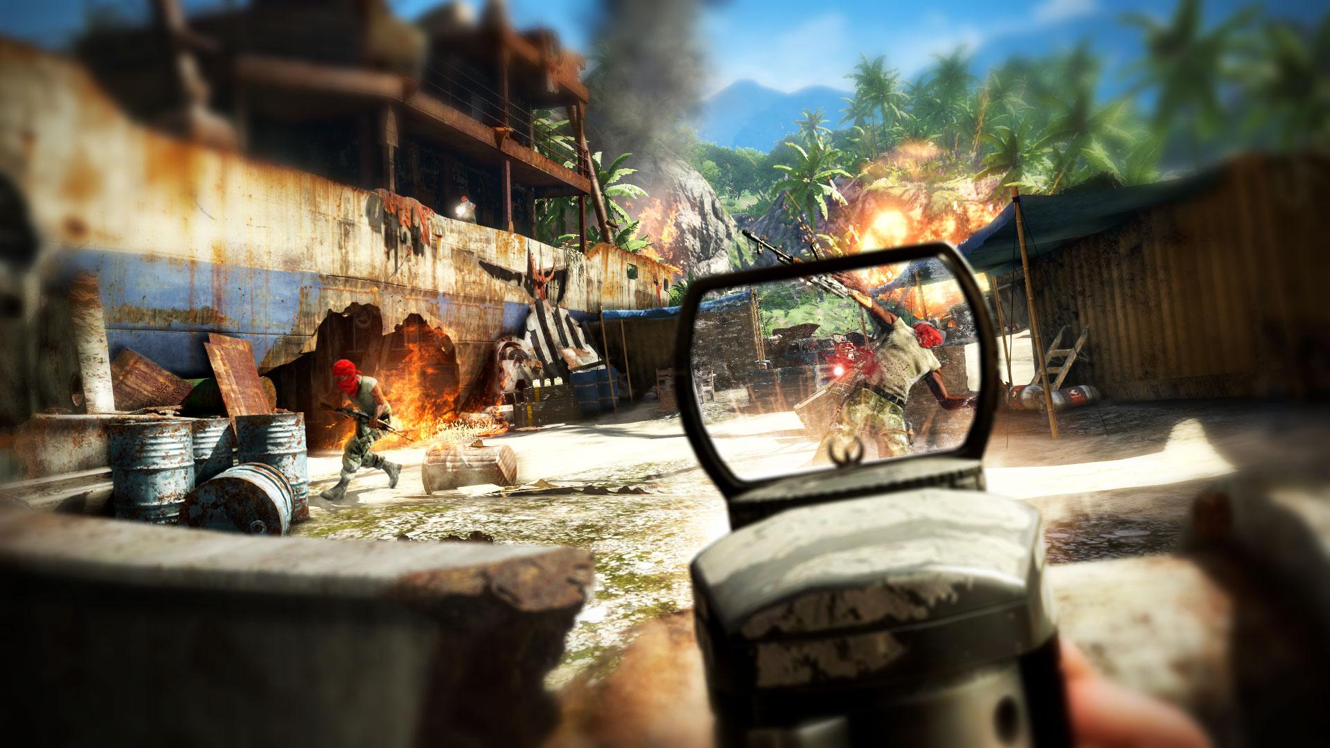 Far Cry 3 война на острове