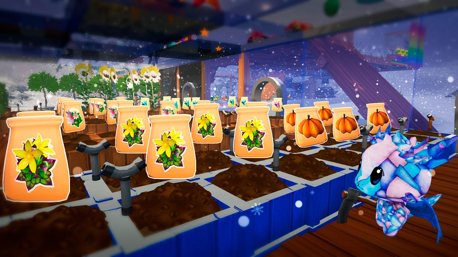 Garden Paws мультяшная 3D ферма