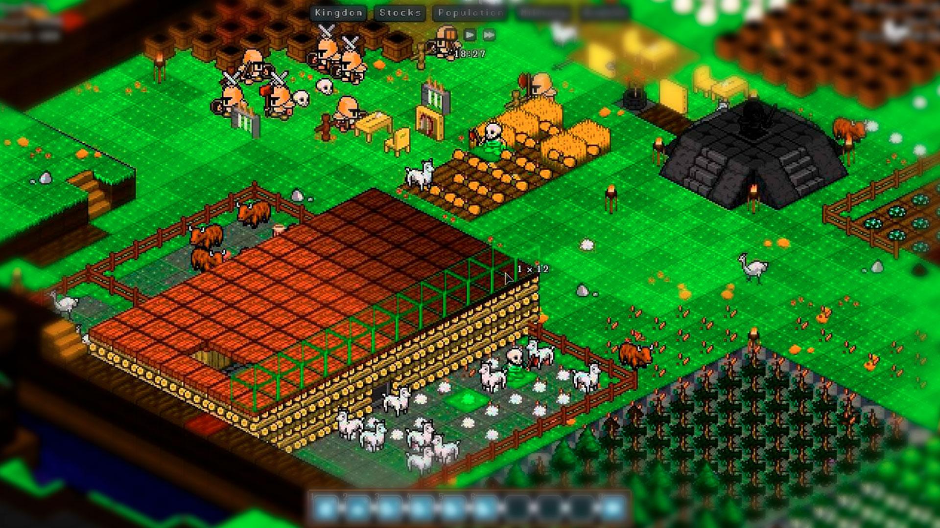Обустройство ферм в Gnomoria