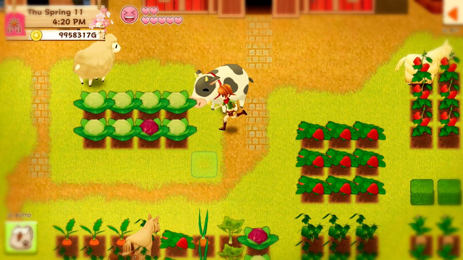 Harvest Moon Light of Hope Special Edition рисованная ферма