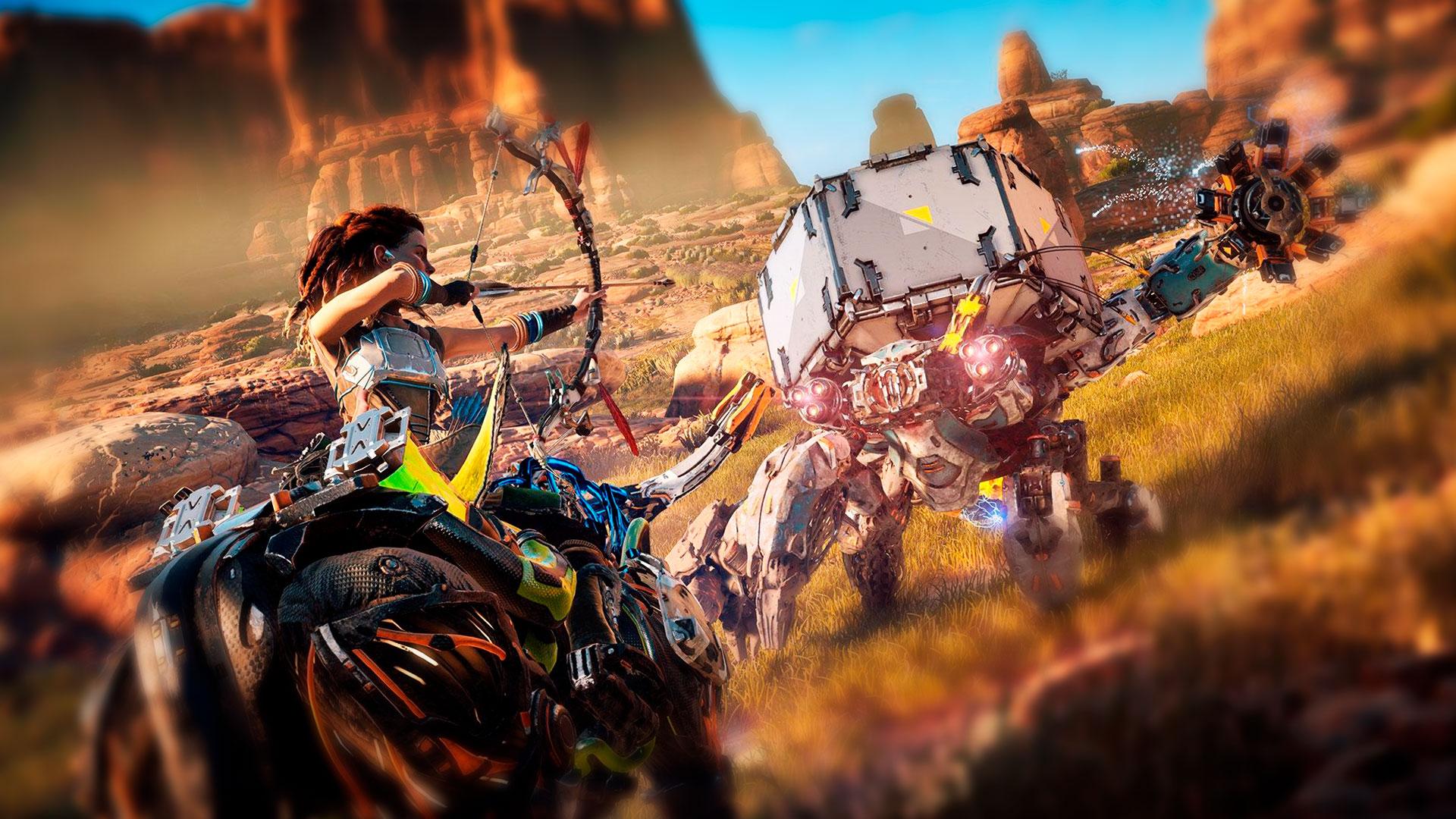 RPG фэнтези Horizon Zero Dawn