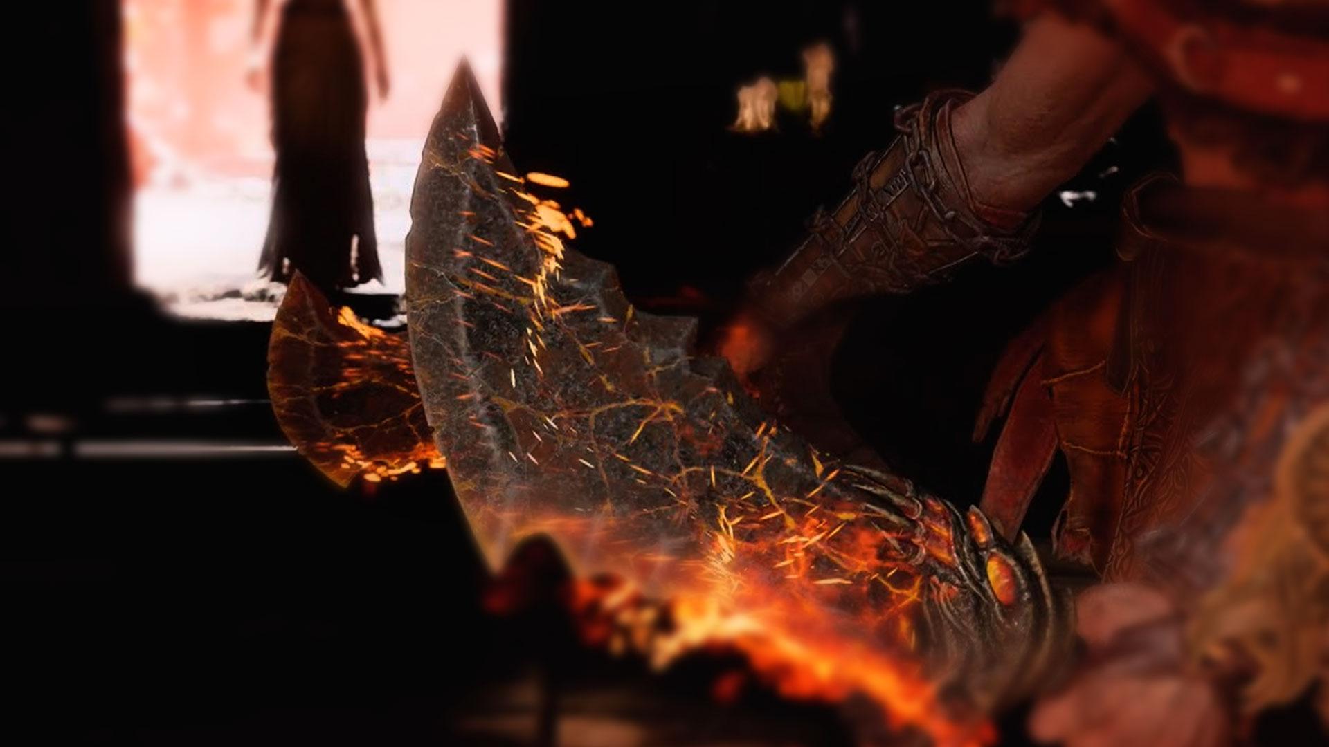 Топ оружий клинки хаоса из God of War