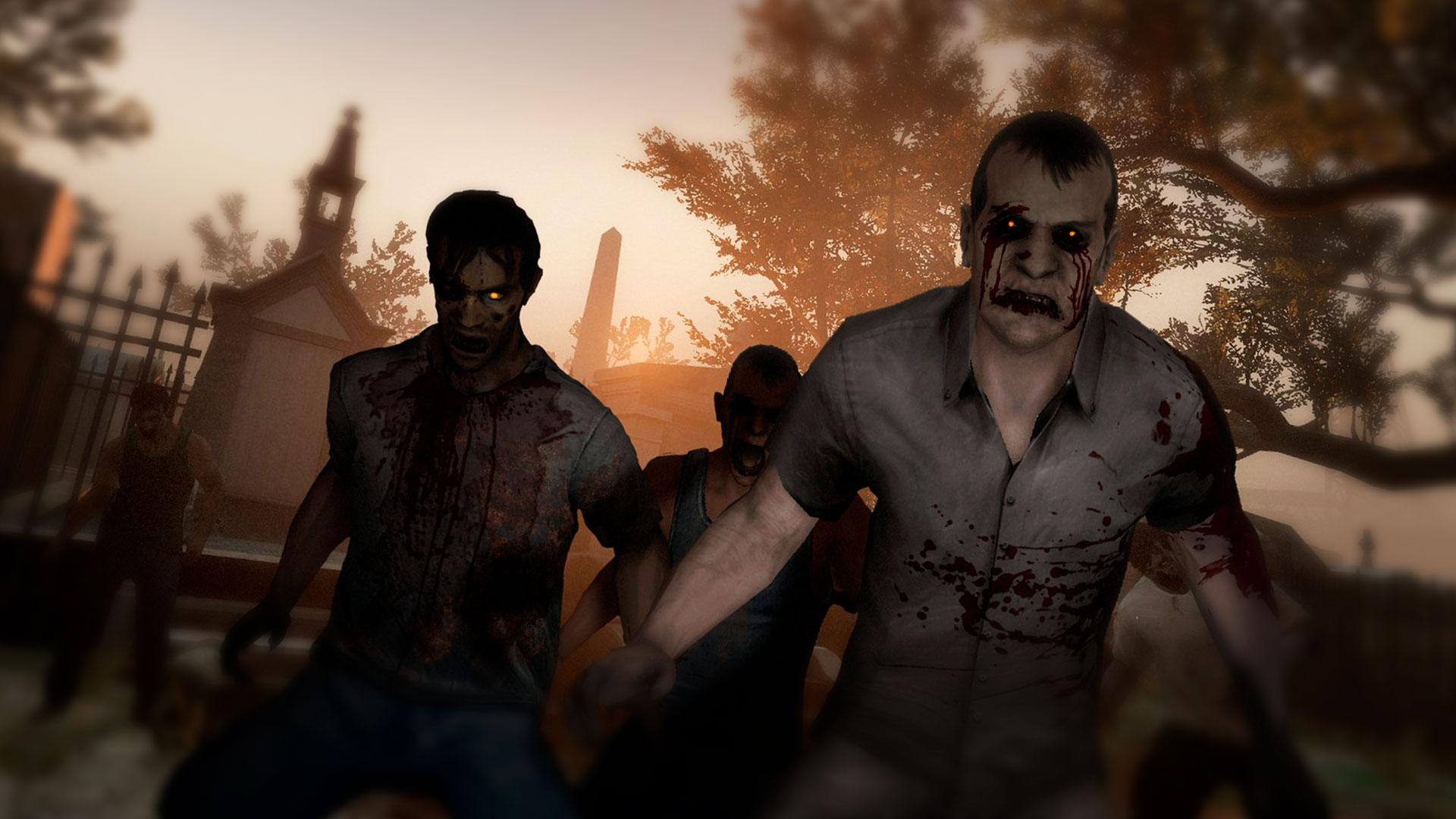 Left 4 Dead и зомби