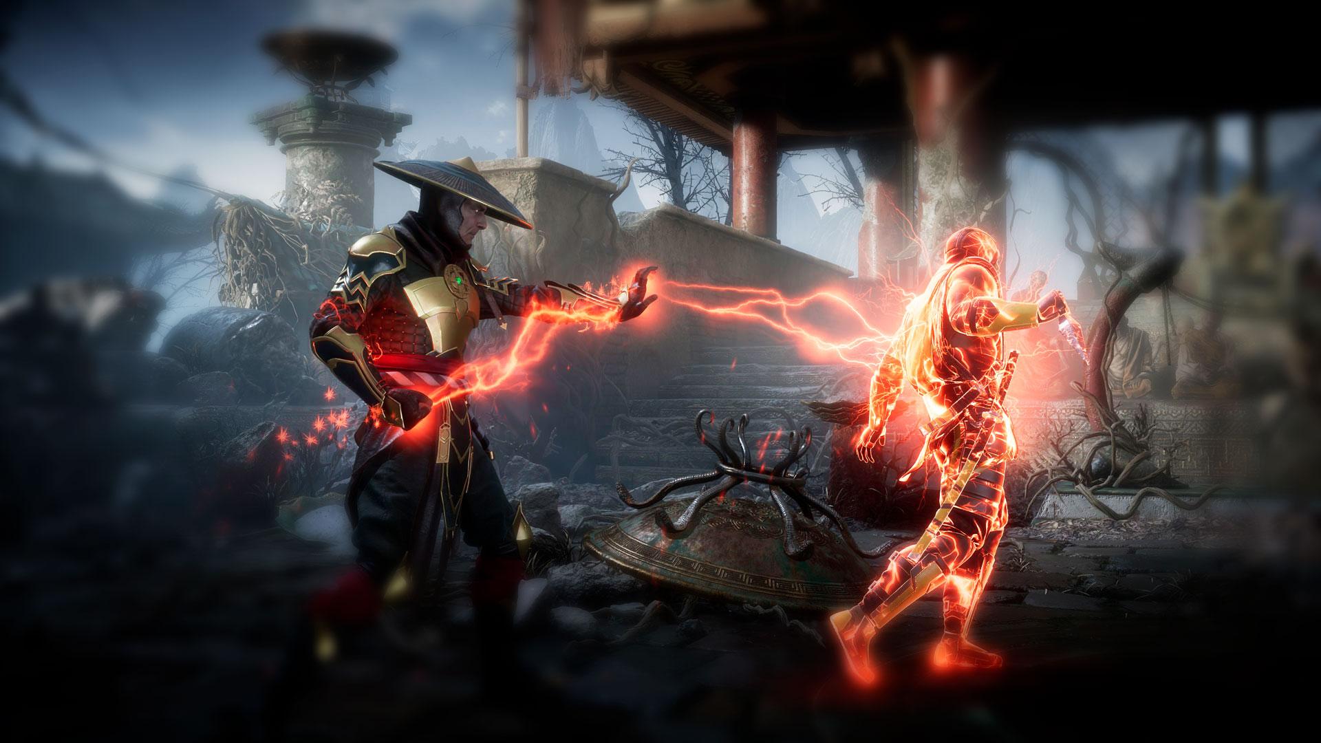 Игра друг против друга в Mortal Kombat 11