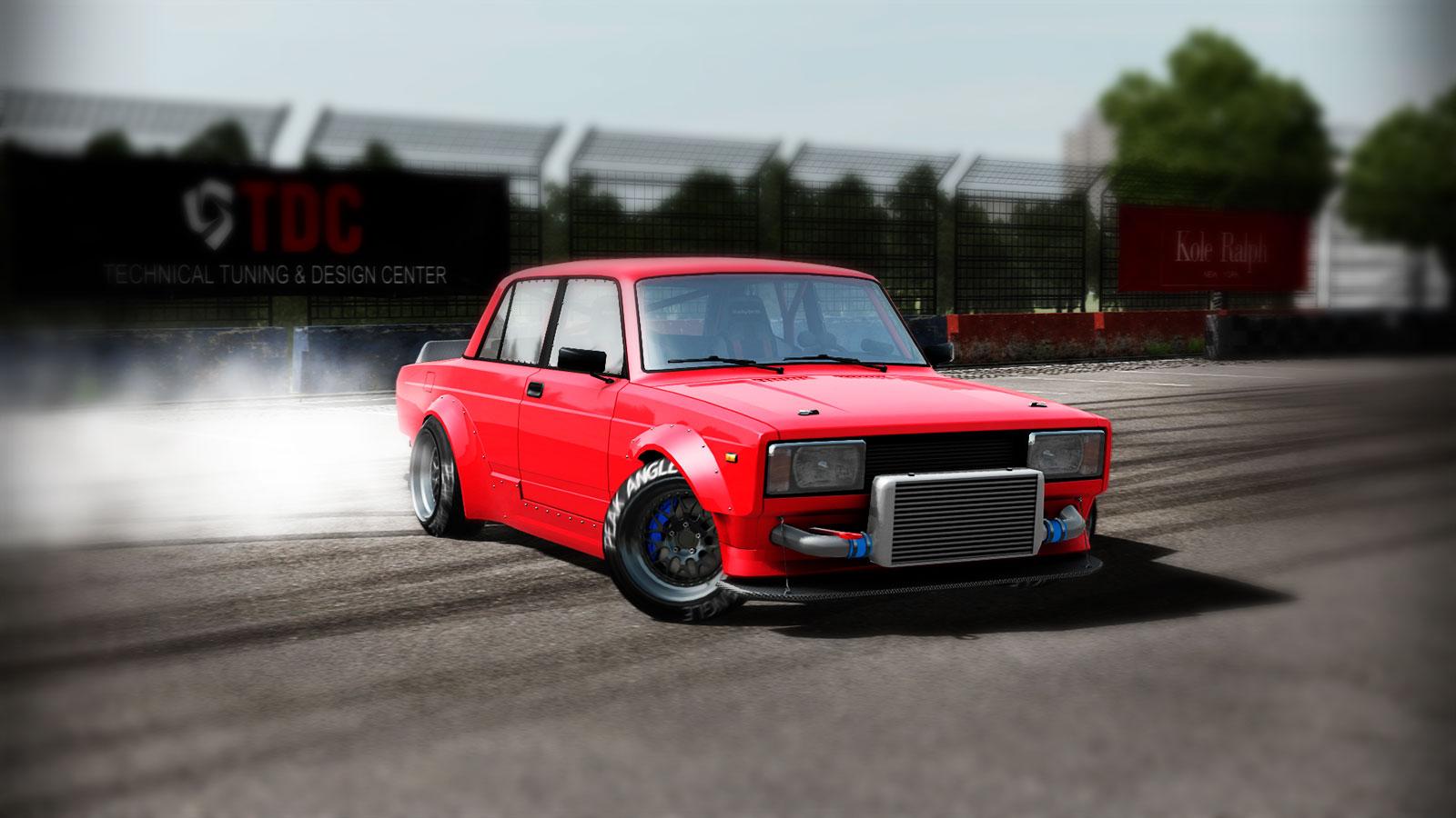 Peak Angle Drift Online дрифт на русских машинах