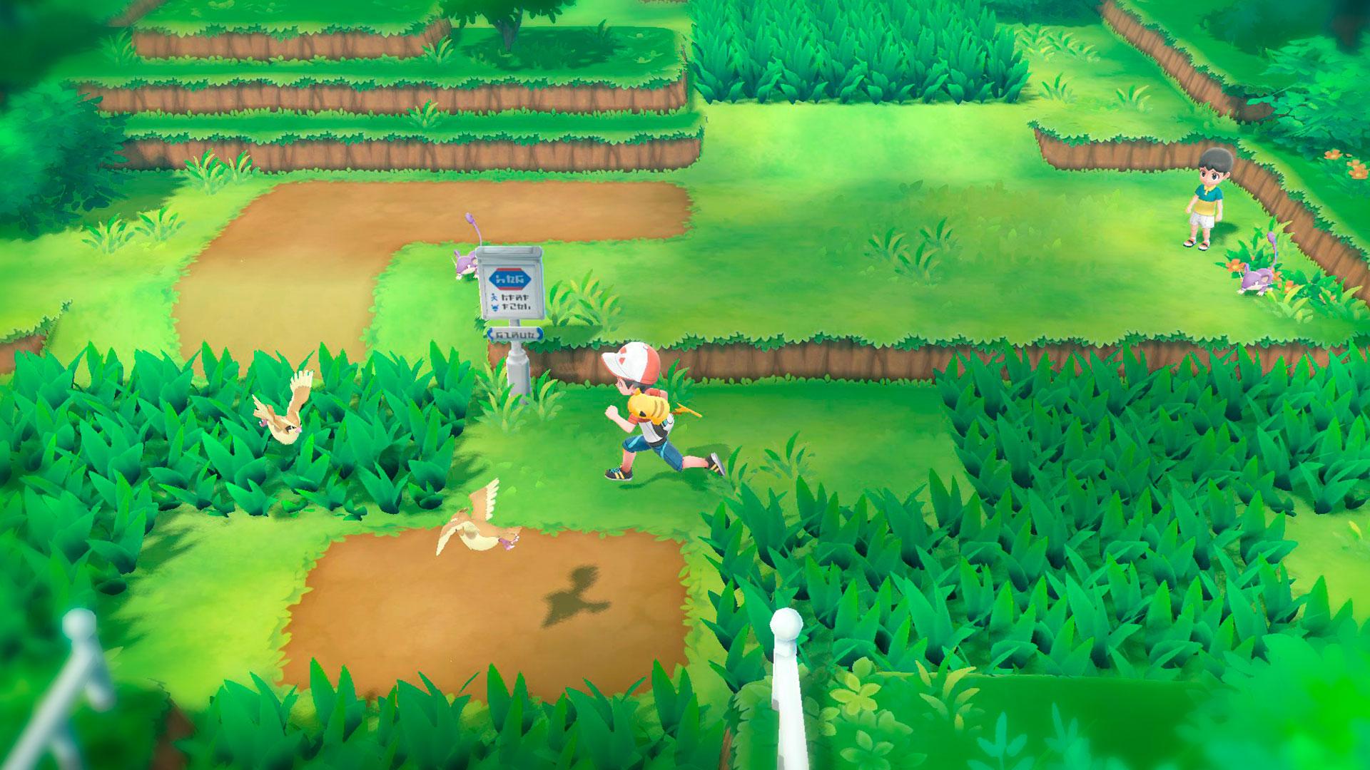 Pokémon Lets Go Pikachu аниме приключения