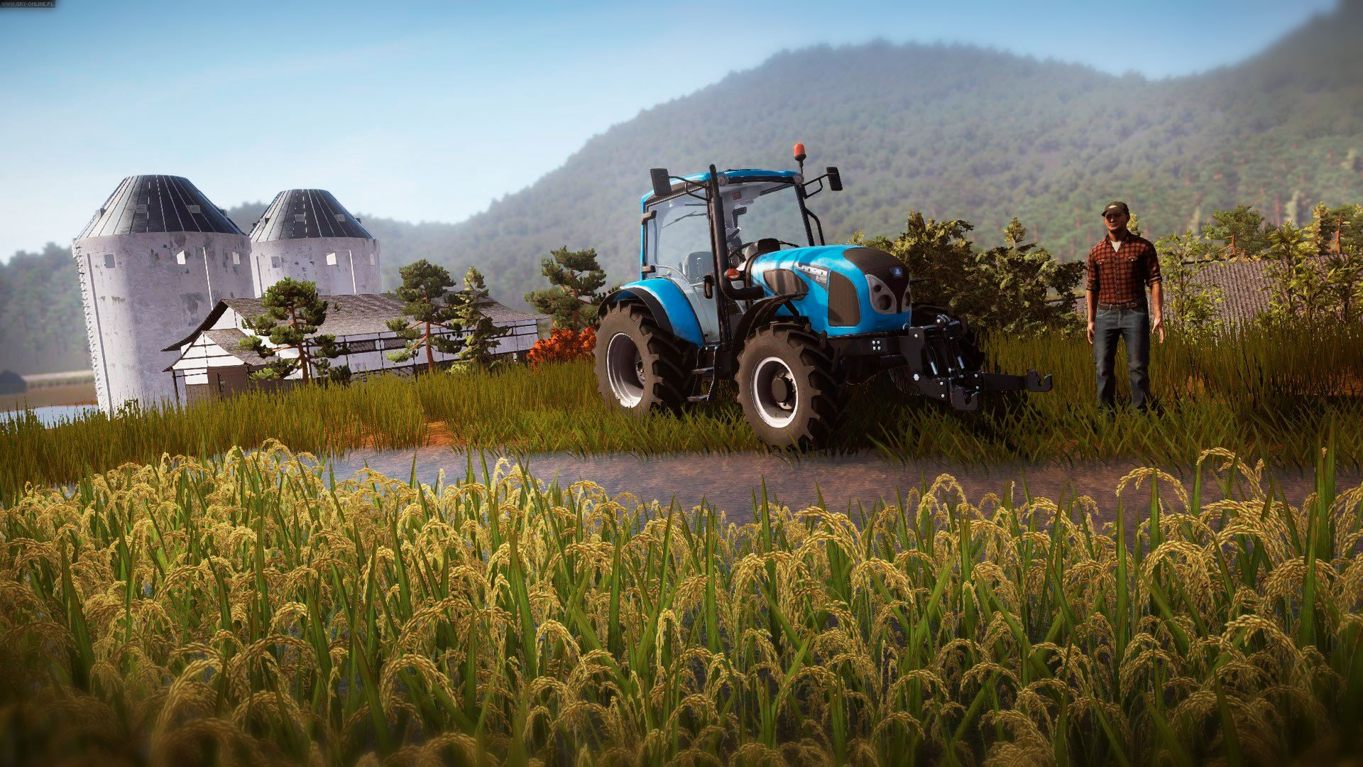 Реалистичное фермерское хозяйство