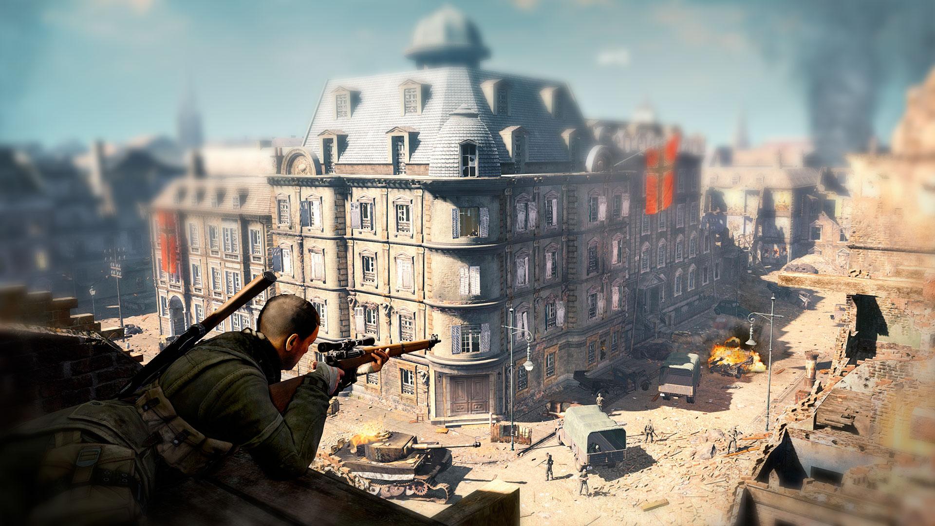 Вторая мировая в Sniper Elite
