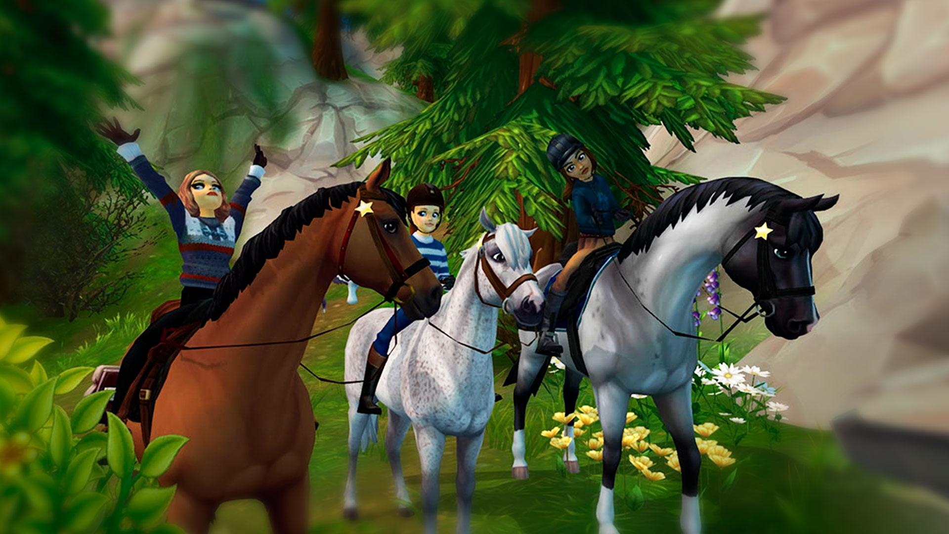 Прогулка на лошадях в Star Stable