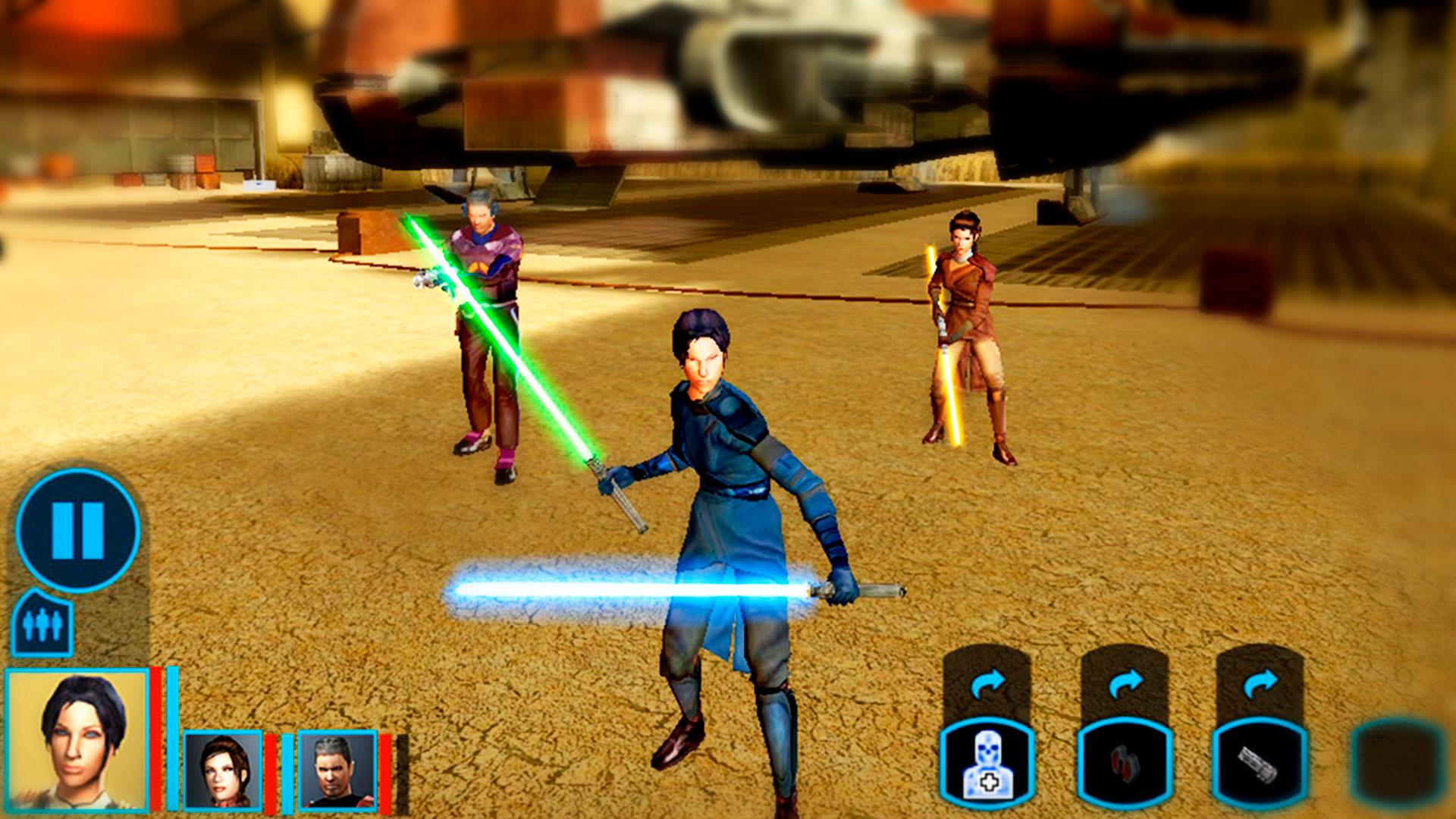 Сбор команды в Star Wars Kotor