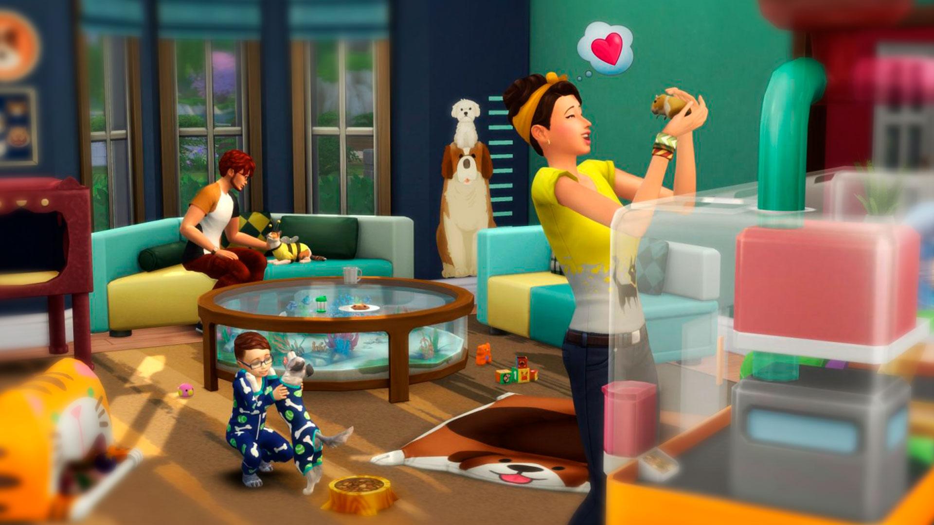 Питомцы в The Sims 4