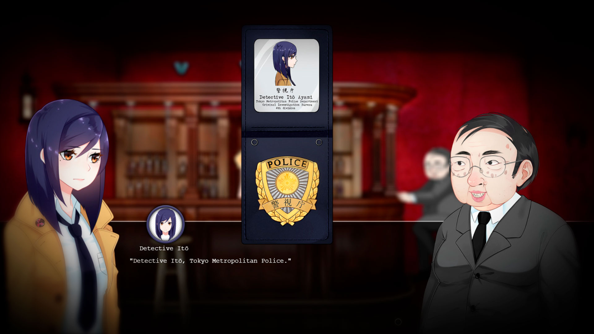 Tokyo Dark детектив в стиле Аниме