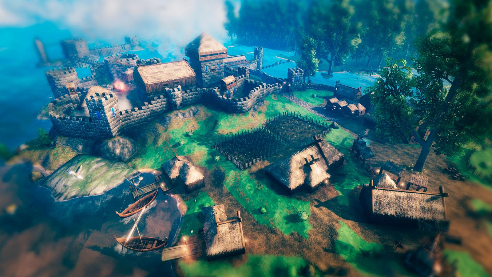 Valheim песочница в средневековье