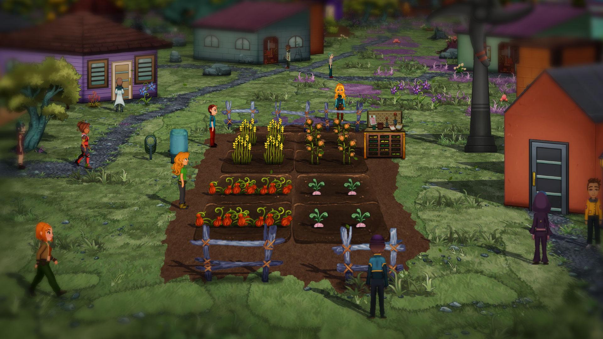 Фермы в Verdant Skies
