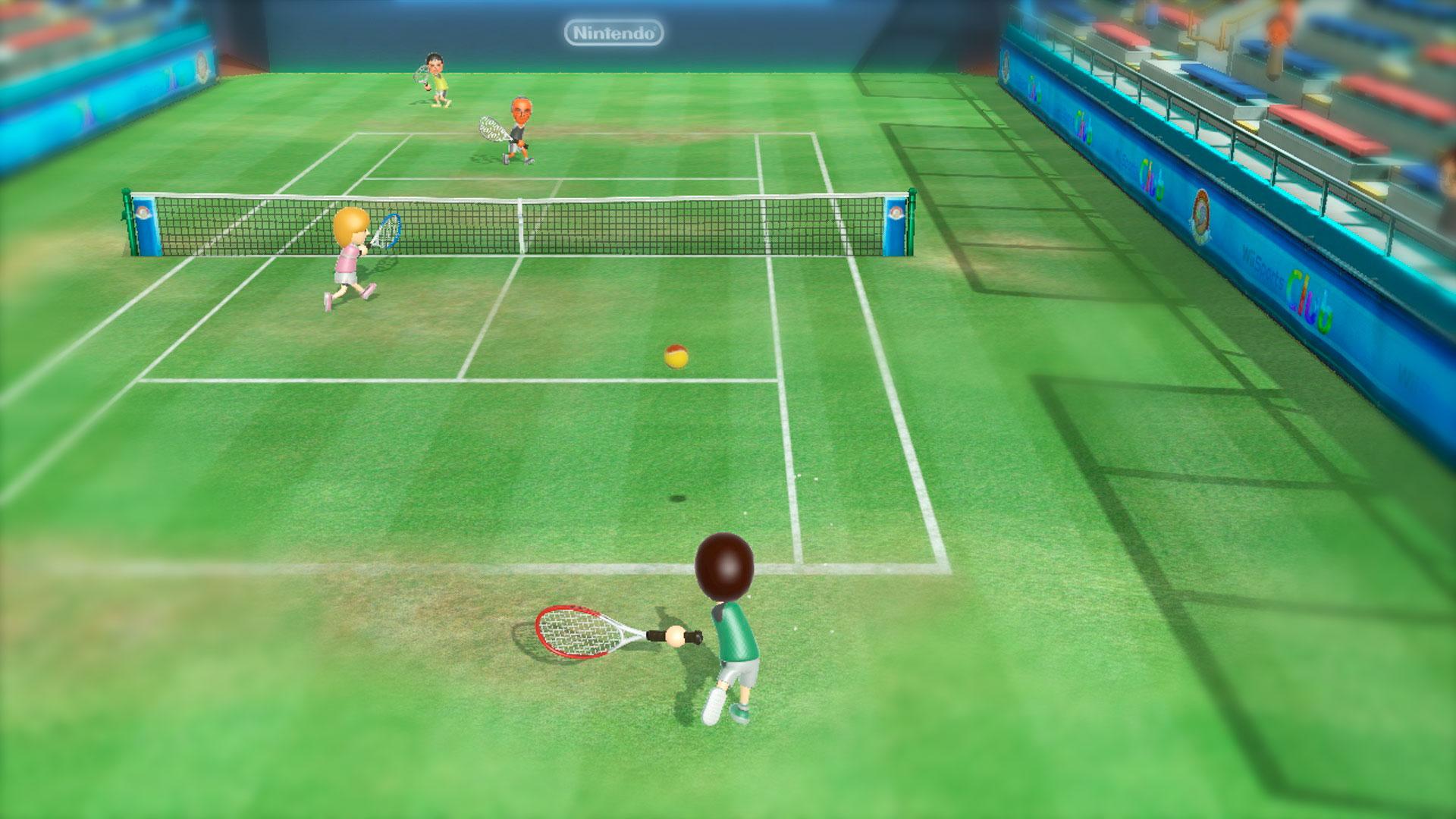 Теннис в Wii Sport