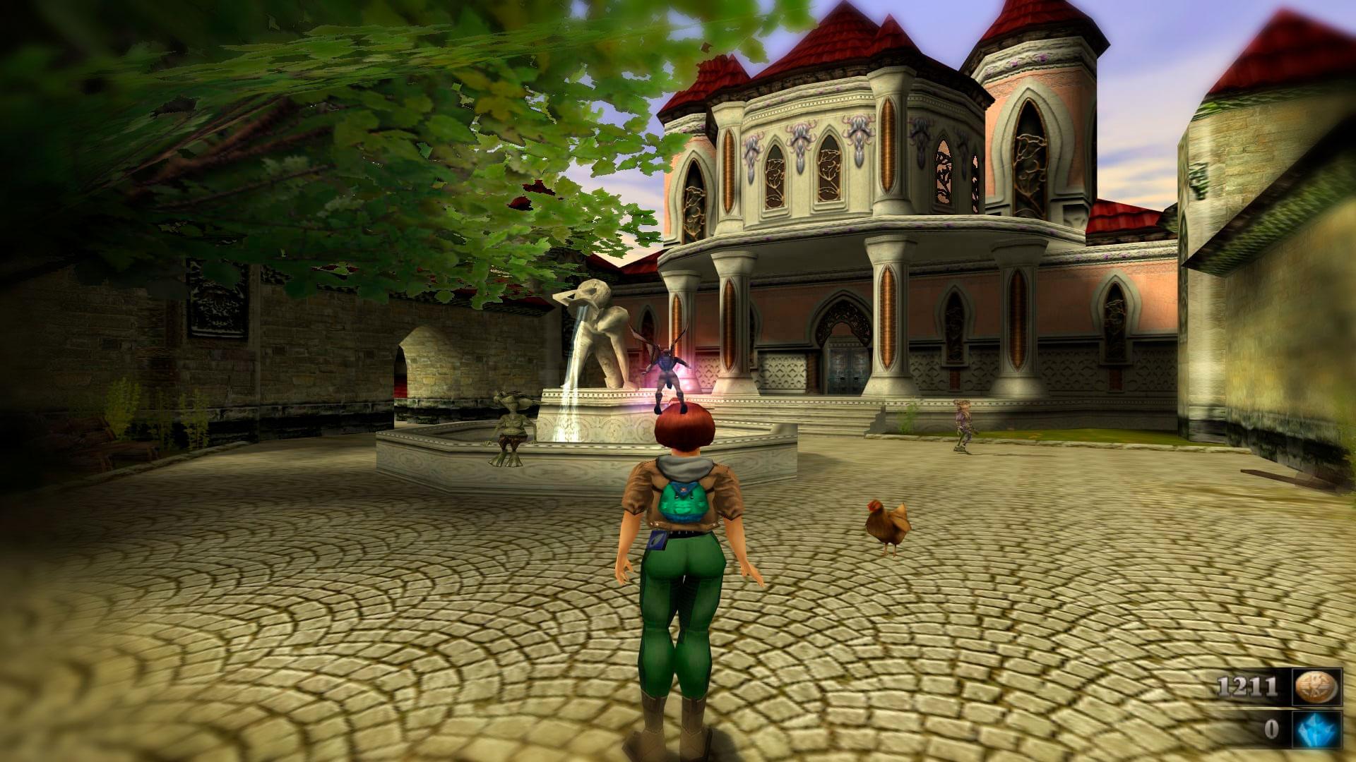 Сказочные спутники в Zanzarah The Hidden Portal