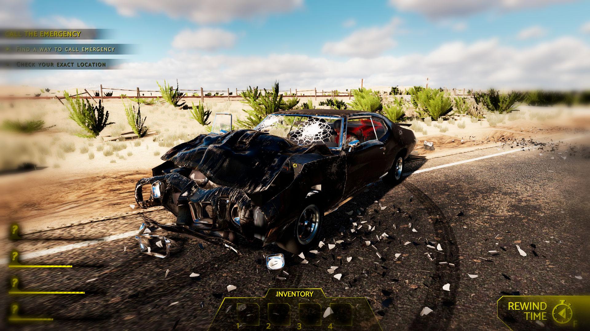 Accident и поиск улик