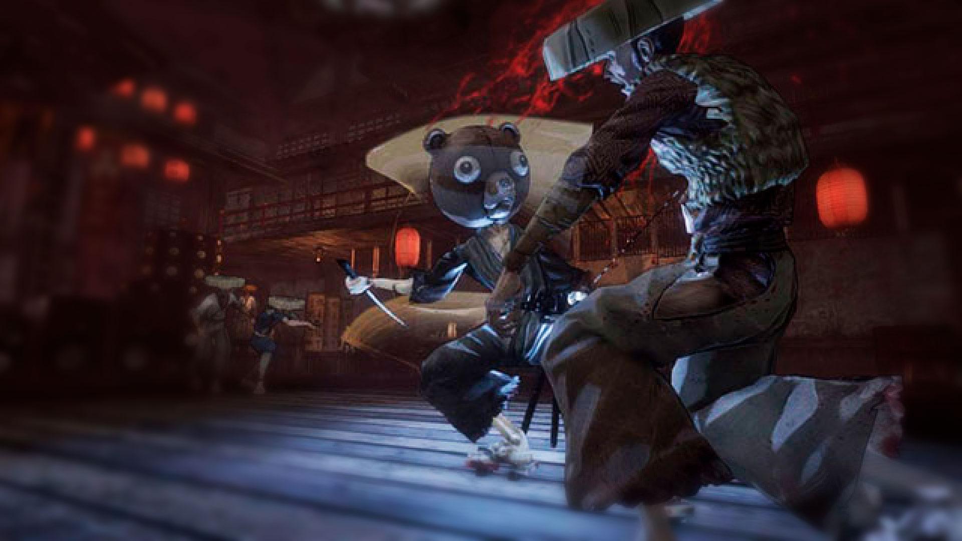 Afro Samurai 2 Revenge of Kuma худший файтинг в истории