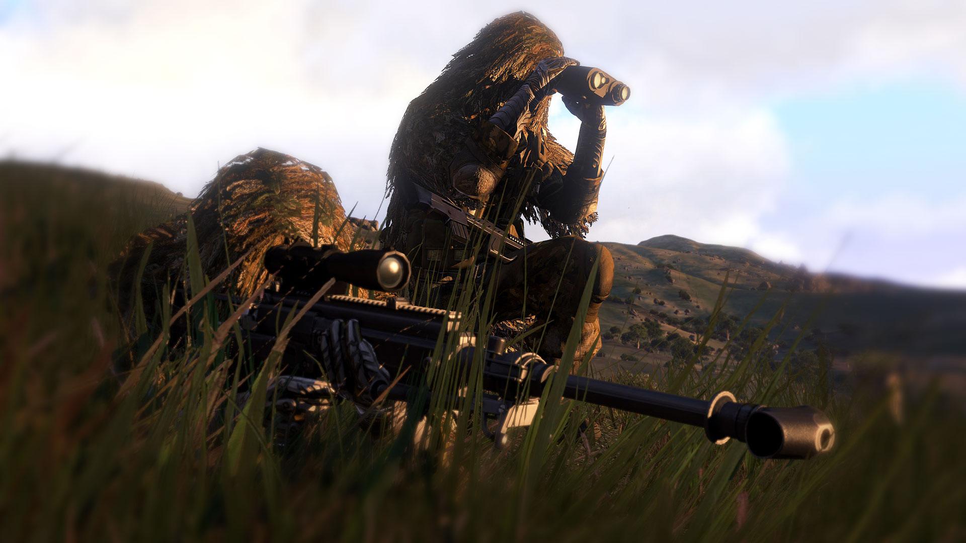 Arma 3 и снайперские посиделки