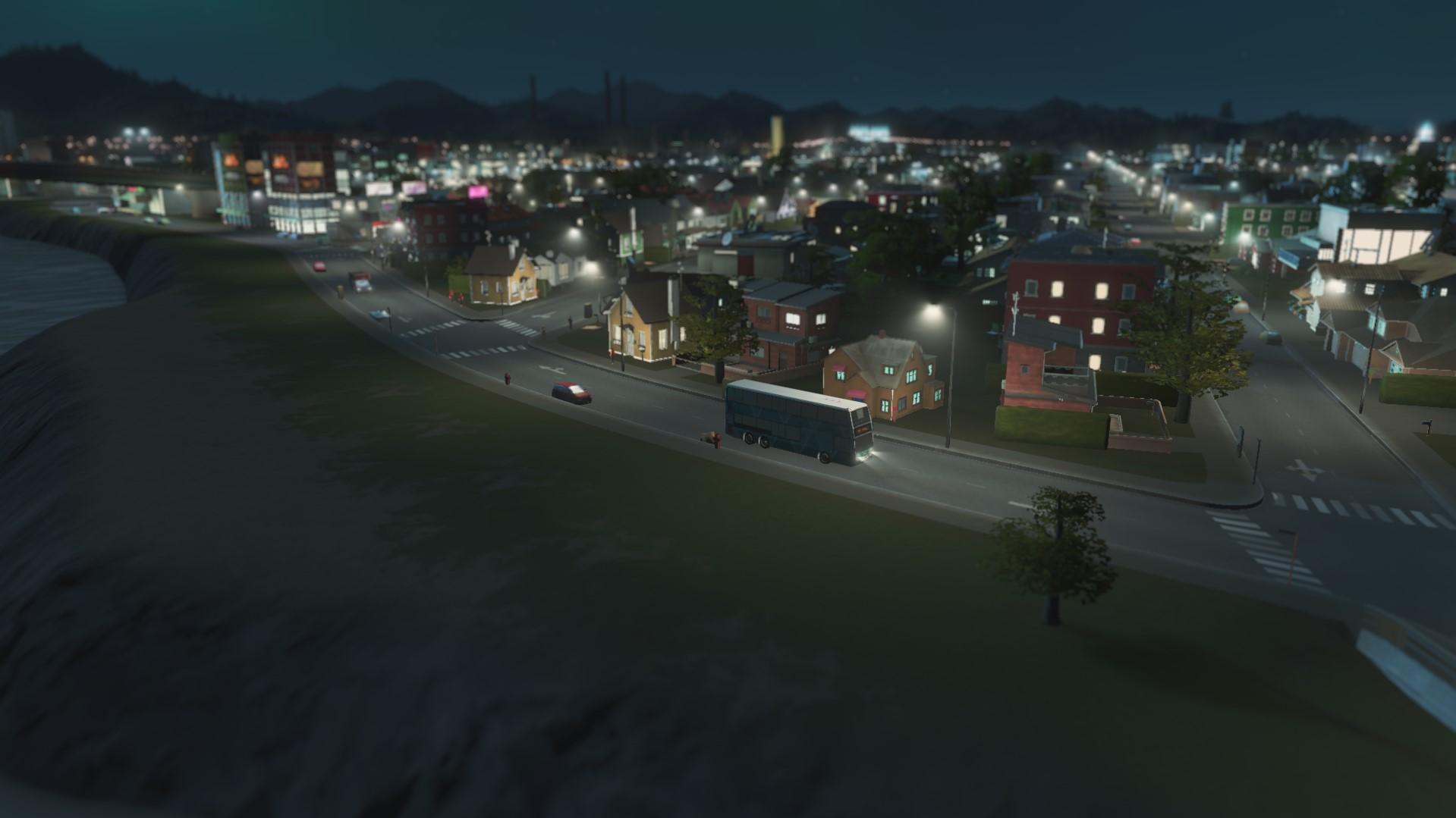 экскурсионные автобусы cities skyline