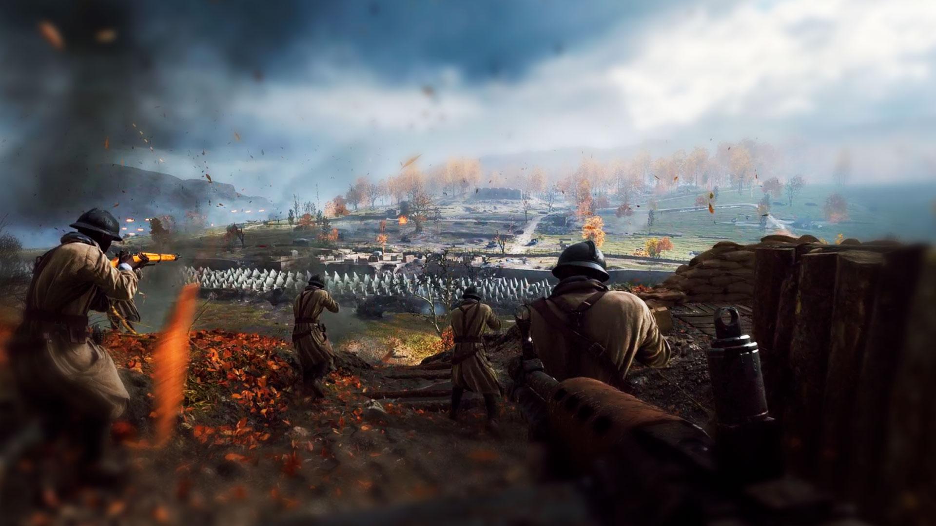 BattleField и военные действия