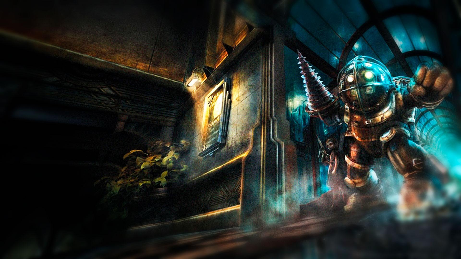 BioShock экшен в подводном мире