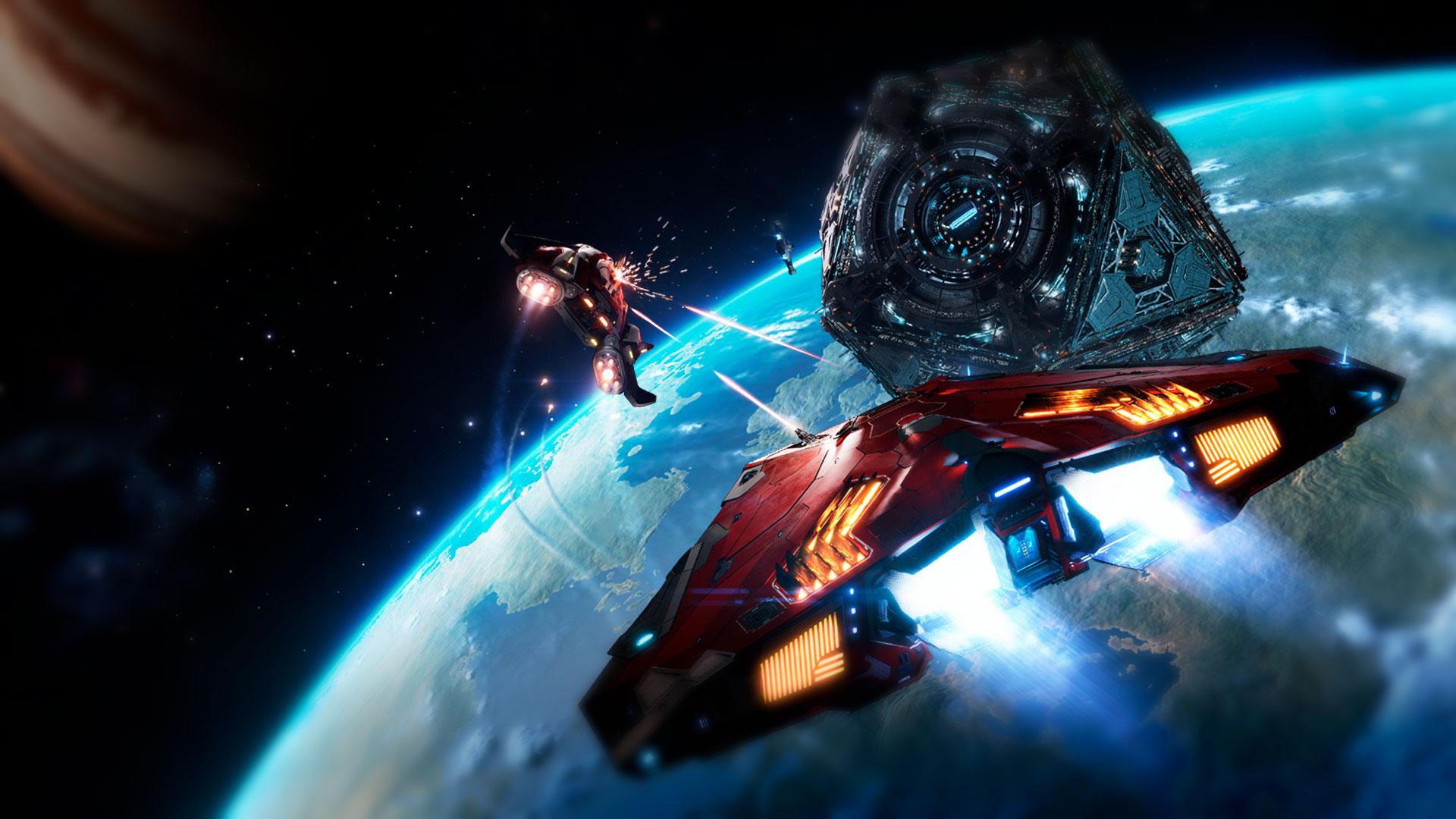 Космическая сетевая игра Elite Dangerous