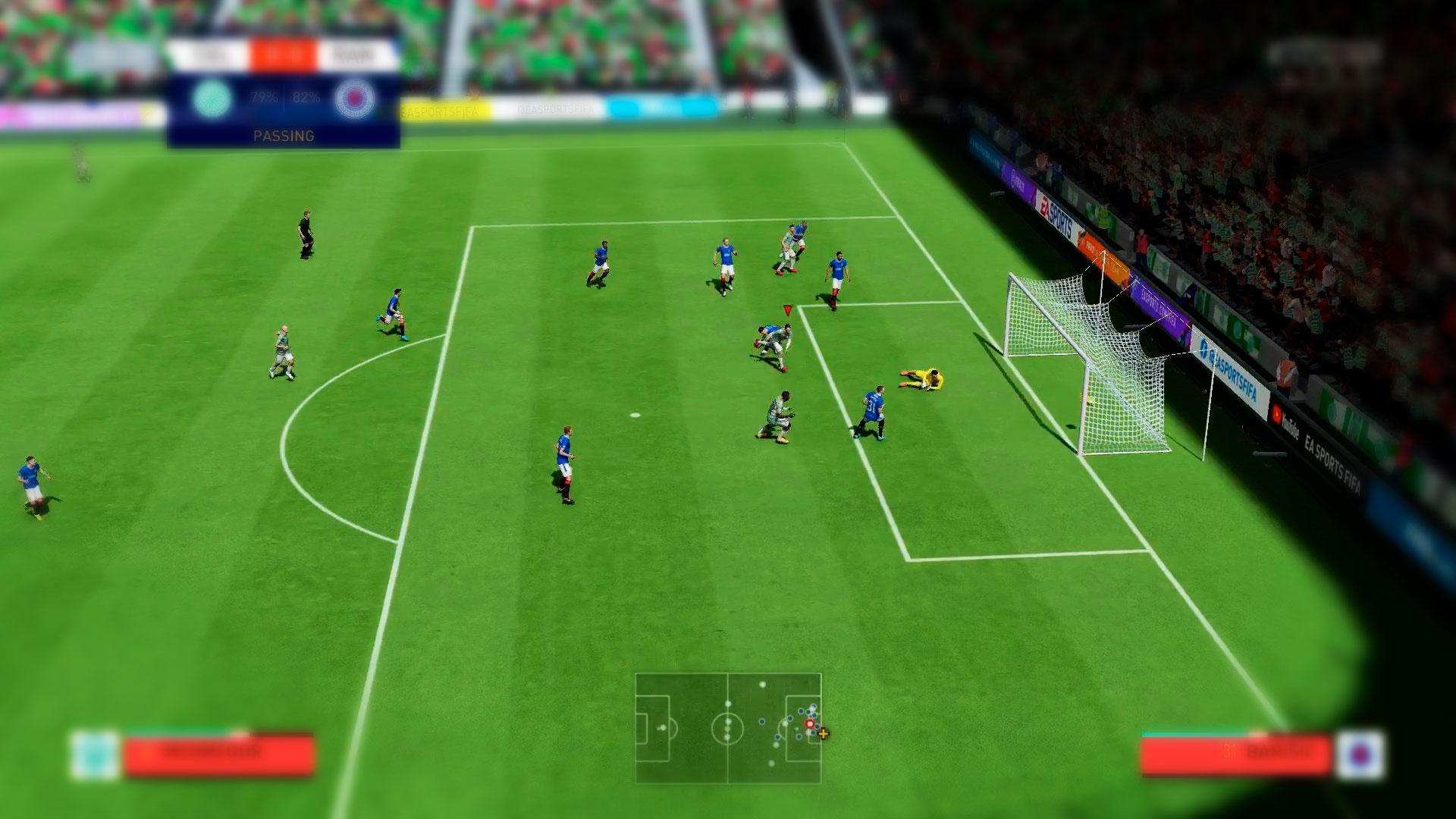 Футбол для игры по сети