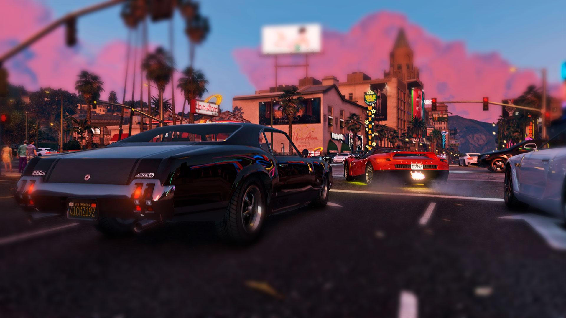 Grand Theft Auto экшен с пушками и тачками