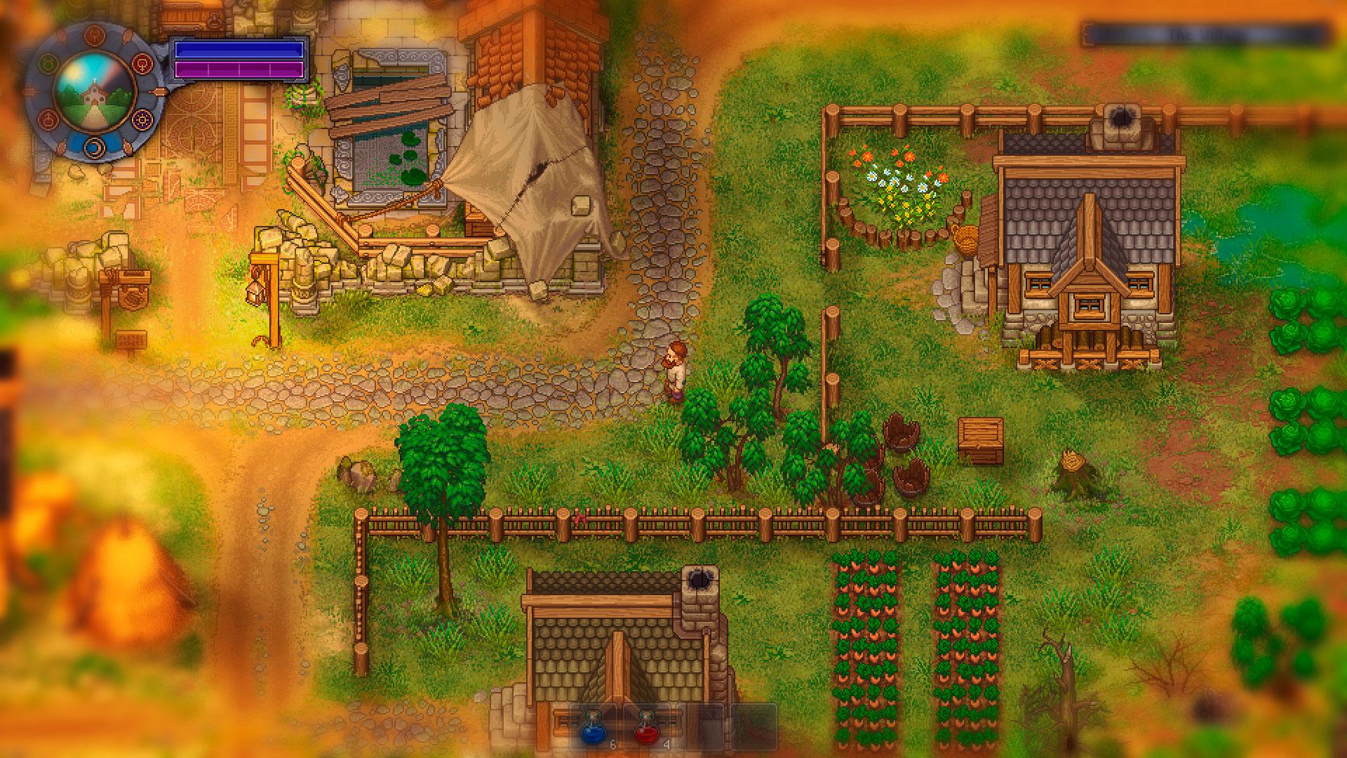 Graveyard Keeper и деревня