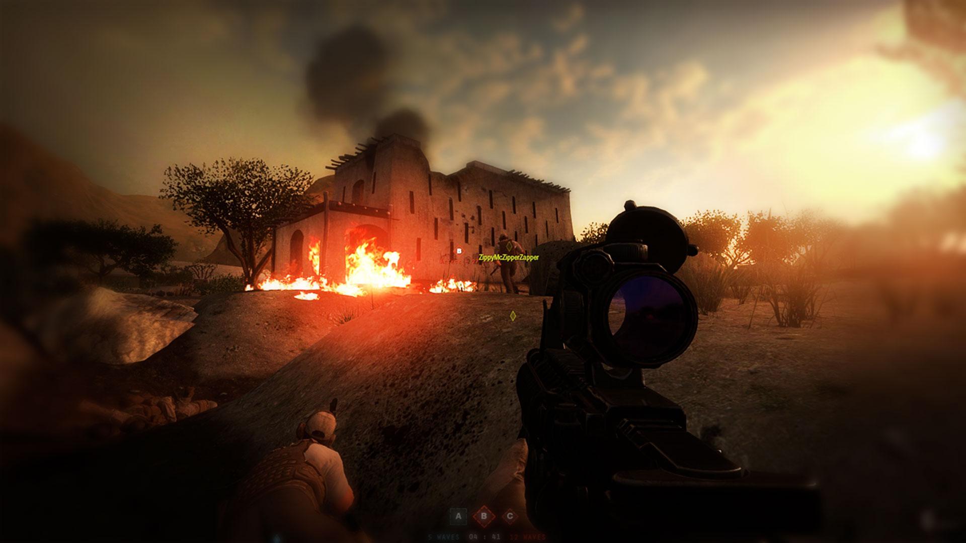 Insurgency и снайперские перестрелки