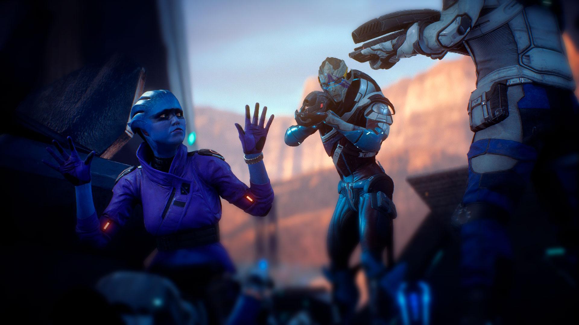 Экшен в Mass Effect