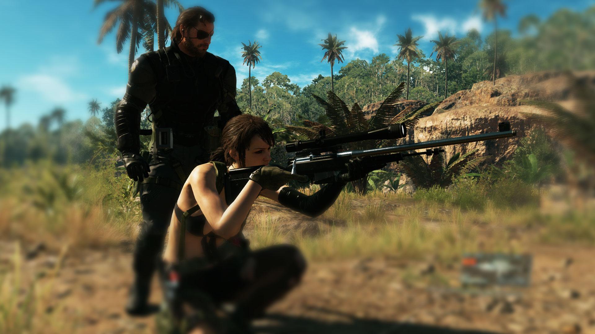Metal Gear Solid V снайперами не рождаются, снайперами становятся