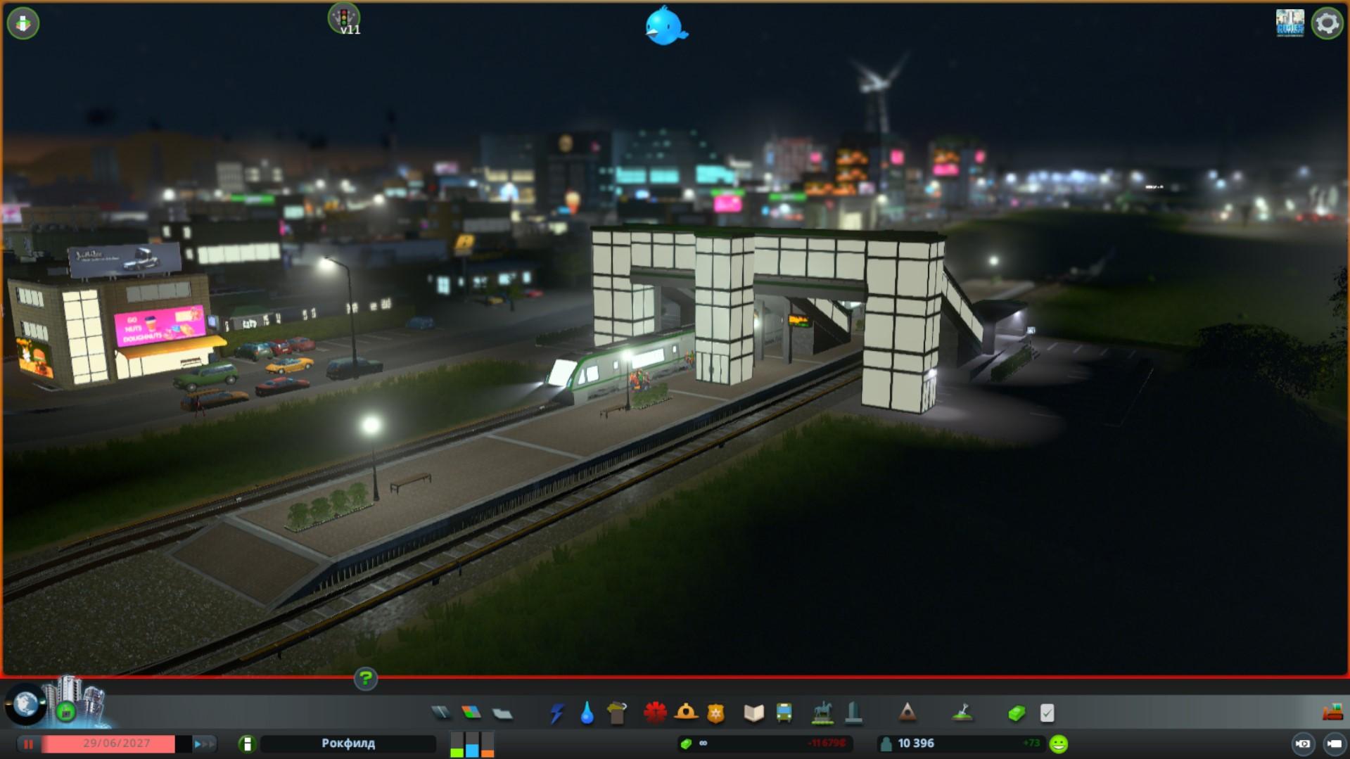 Новые вариации наземных станции  cities skyline метро