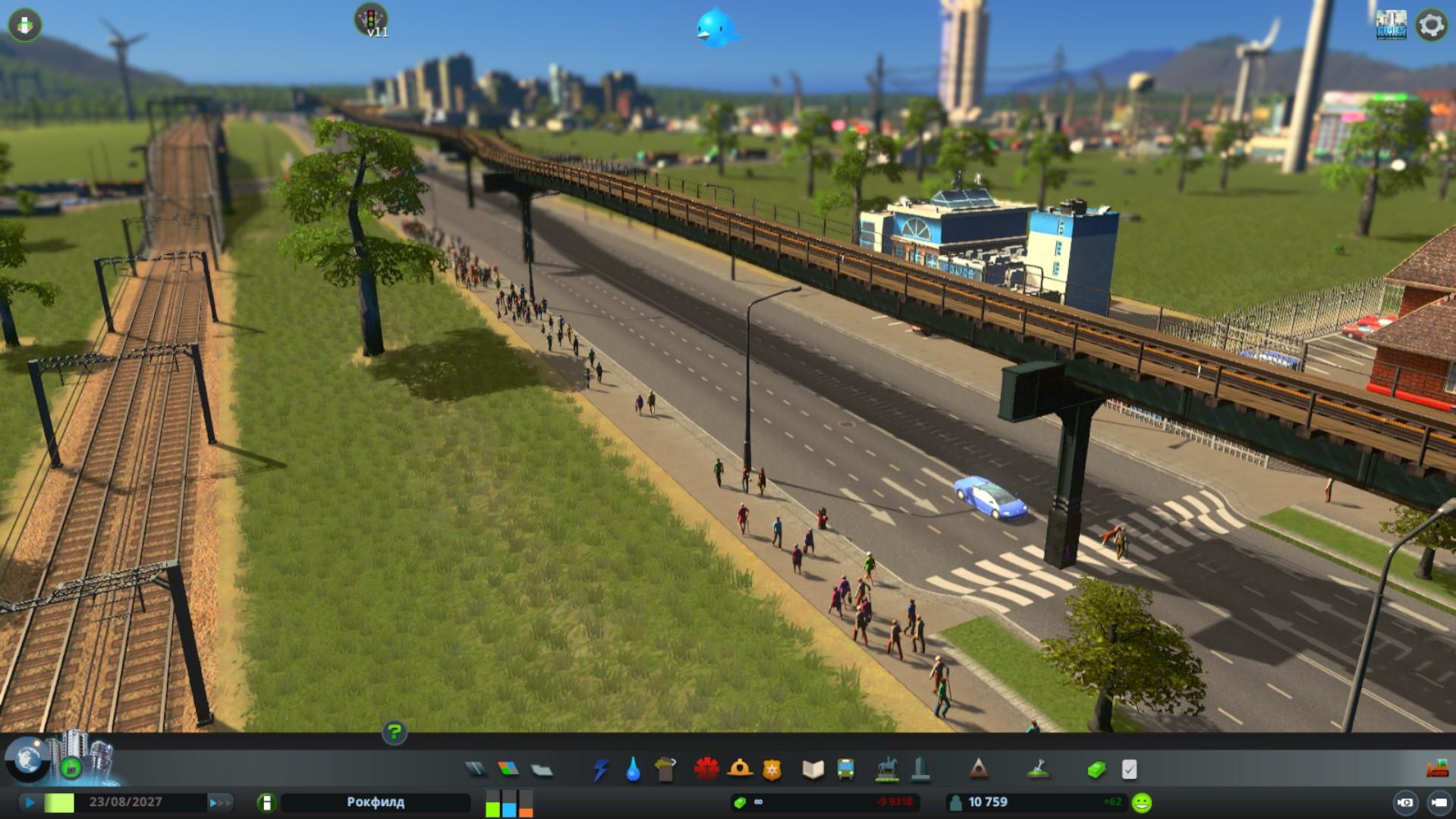 внешний вид cities skyline