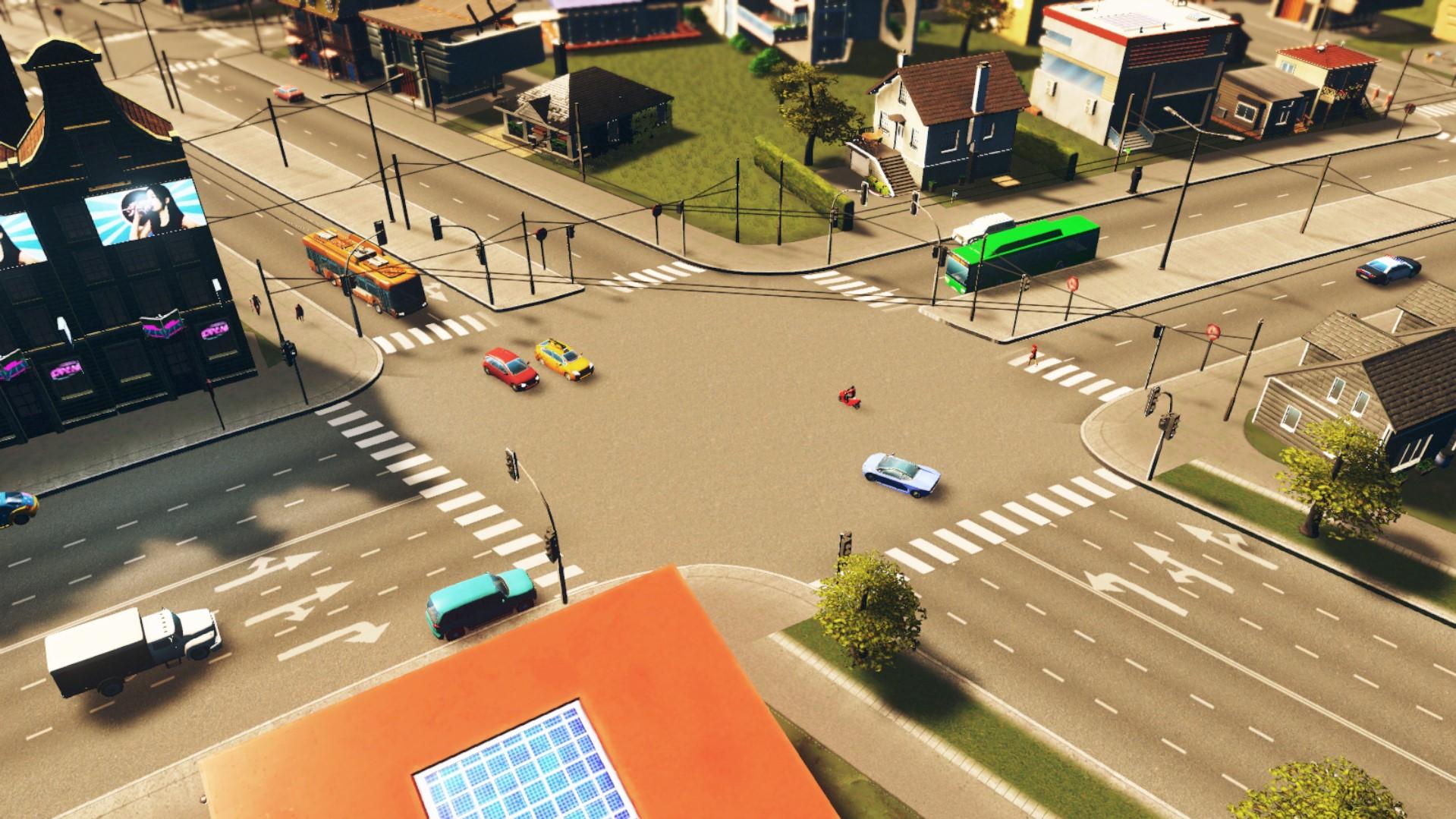 неэффективный троллейбус cities skyline