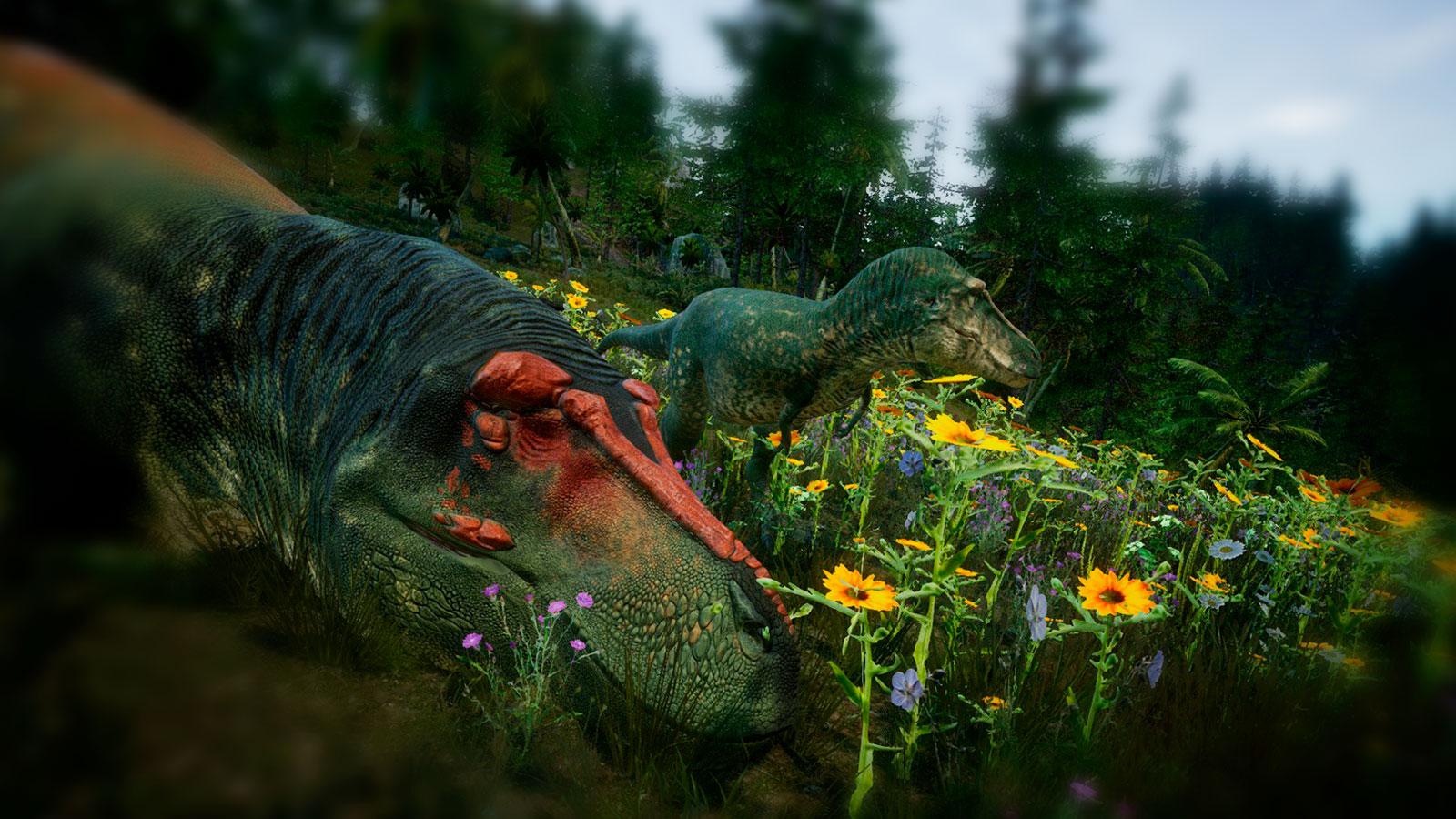 Динозавры, обитатели бермуд
